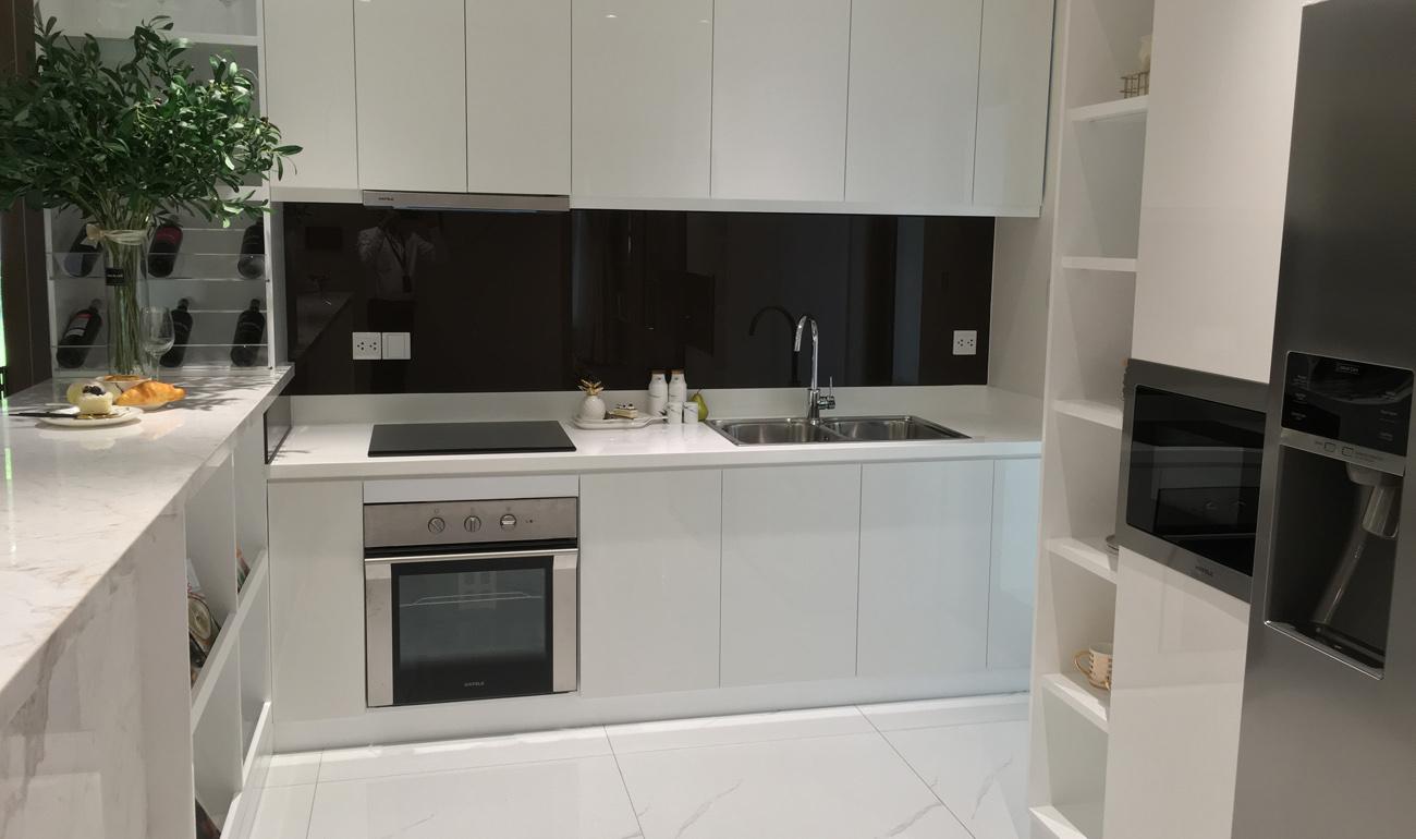 bếp căn hộ diamond celadon city