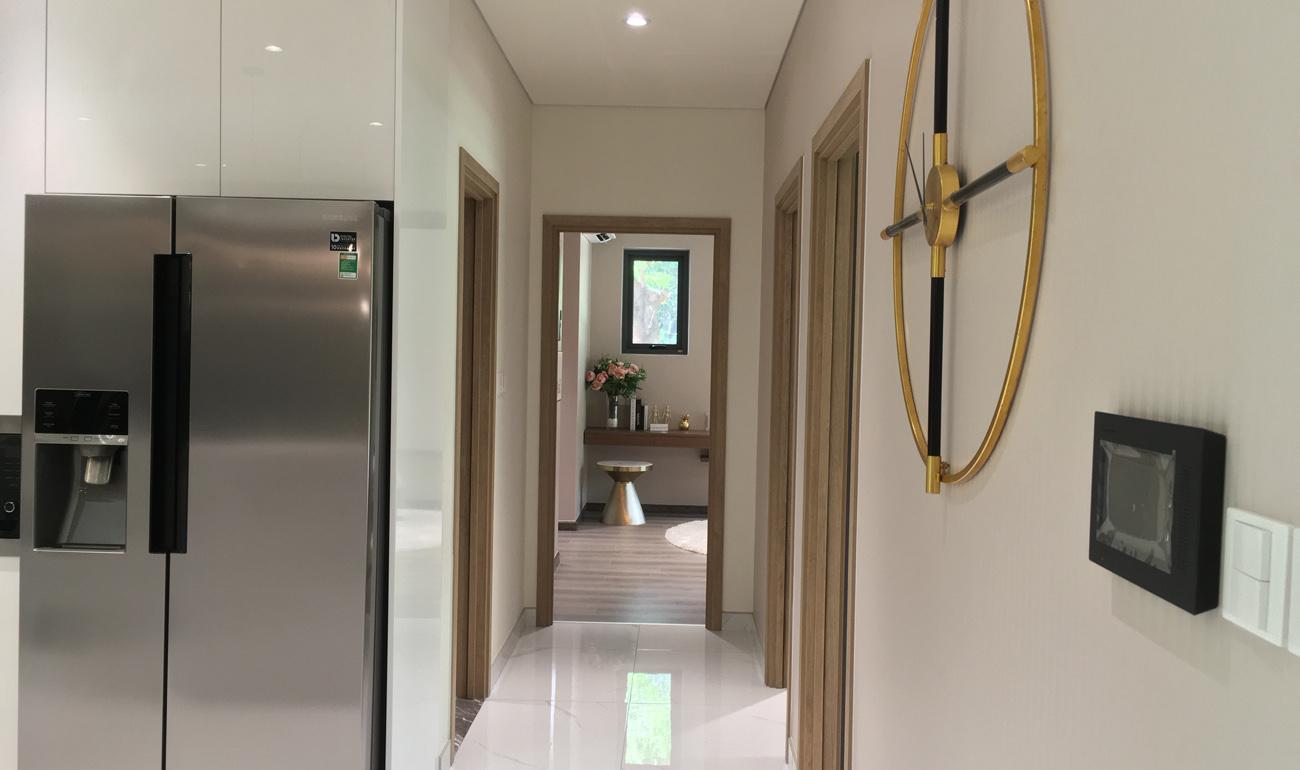 nhà mẫu căn 3 phòng ngủ căn hộ celadon tân phú - hành lang căn hộ