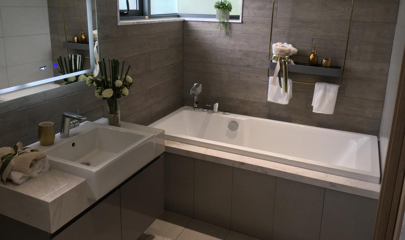 nhà mẫu căn 3 phòng ngủ căn hộ dự án celadon city - nhà wc