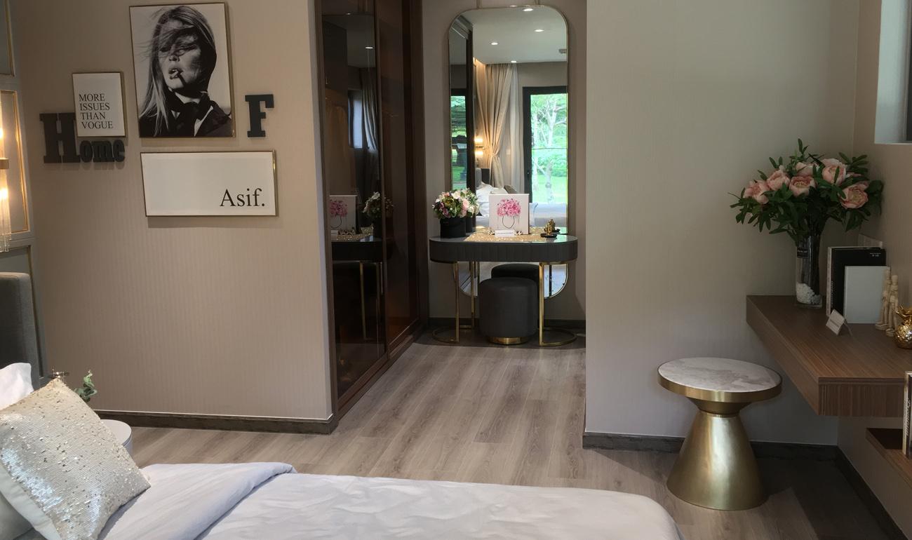 nhà mẫu căn 3 phòng ngủ celadon diamond - phòng master bedroom