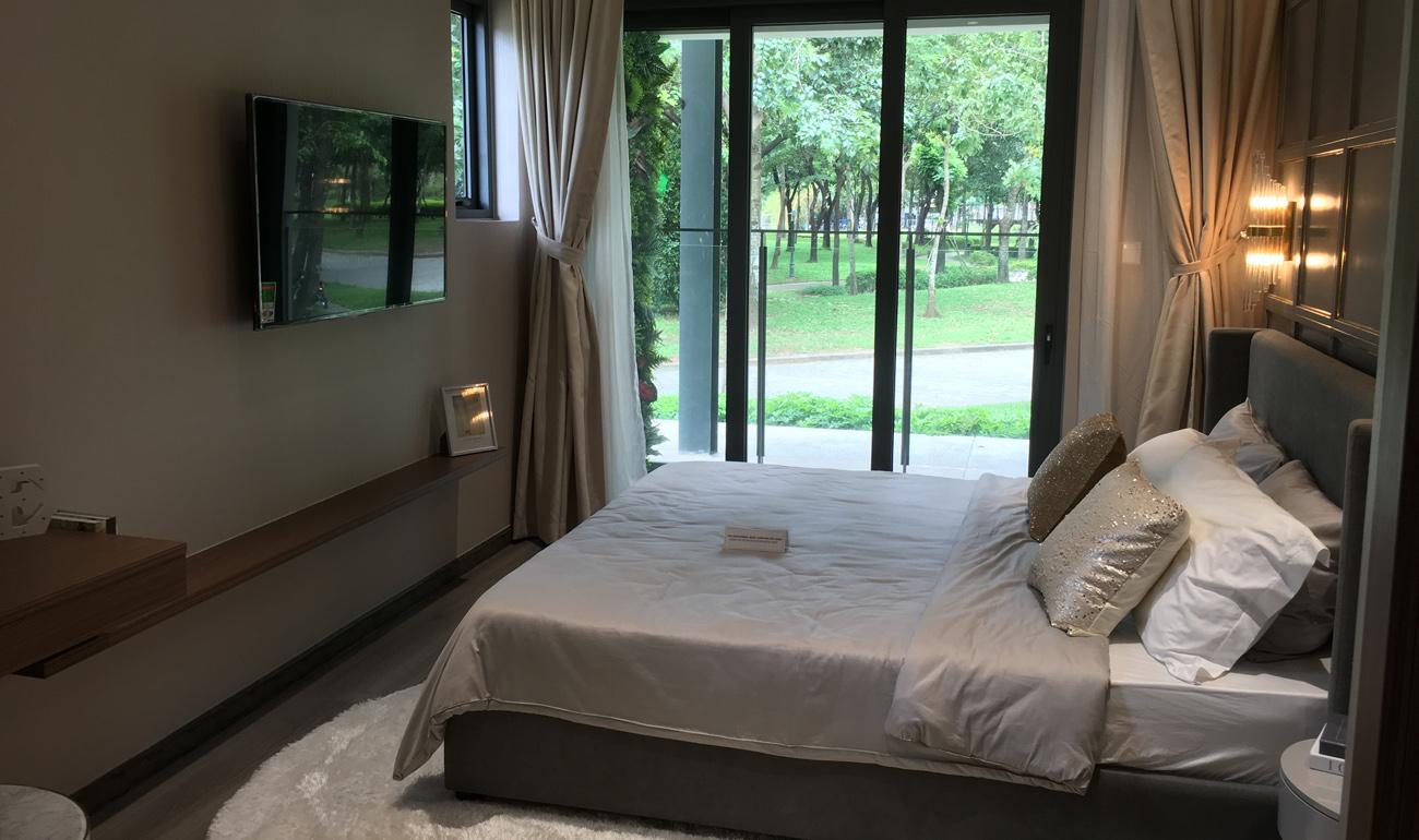 nhà mẫu căn 3 phòng ngủ celadon tân phú - phòng ngủ master